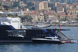 Octopus anchored off Cannes