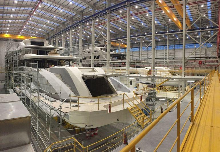 Bilgin 263/1 and 263/2 in build at West Istanbul shipyard