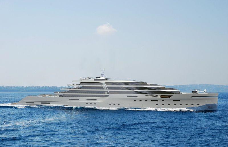 Project XIA 160m concept exterior design