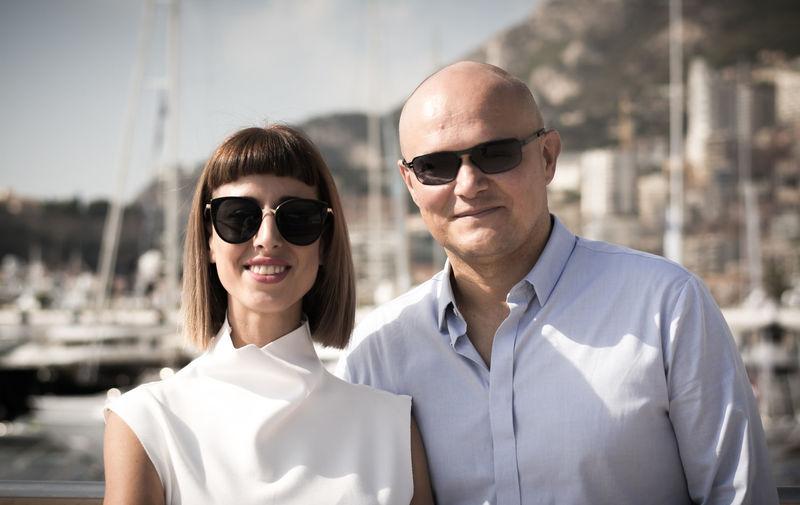 Igor Lobanov and Yulia Lobanov at the Monaco Yacht Show