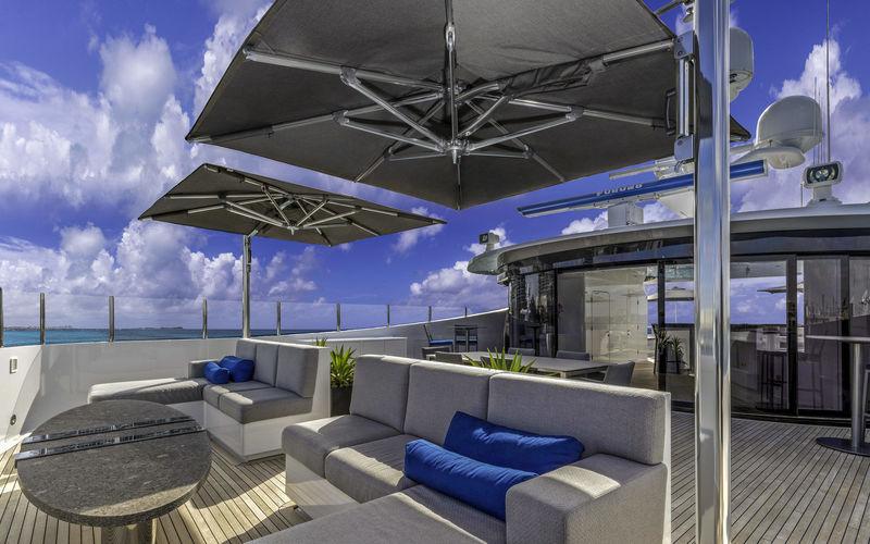 Imagine upper deck saloon