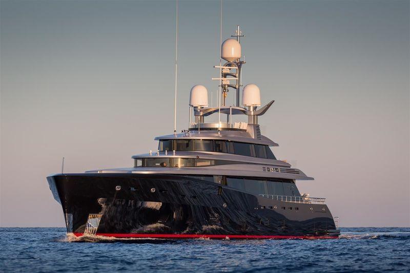 KISS yacht Feadship