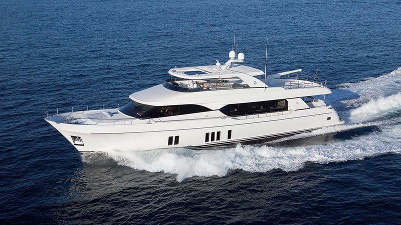 Ocean Alexander OA 100 yacht Now We Know