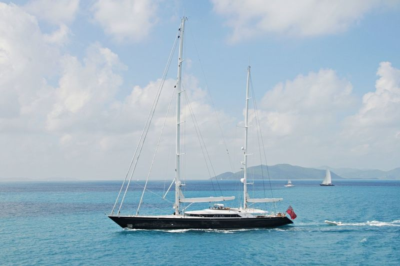Parsifal III in the Caribbean