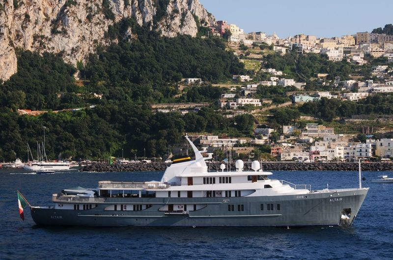 Altair III anchored