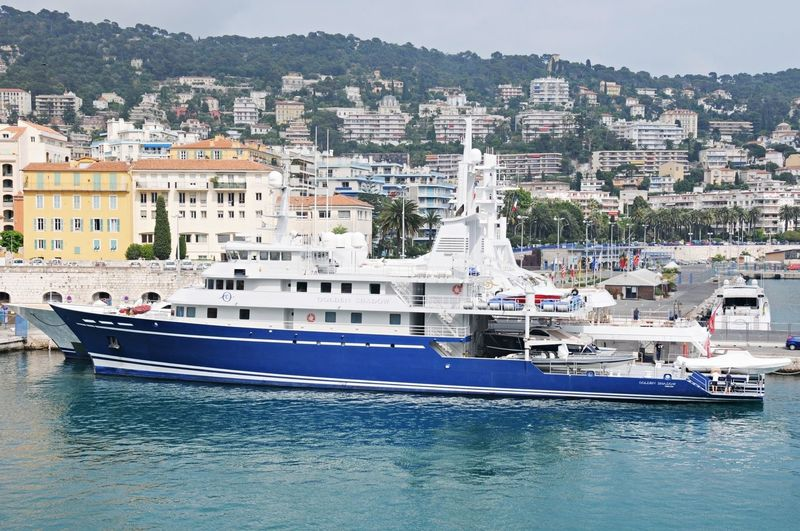 BLUE SHADOW yacht Campbell Shipyards