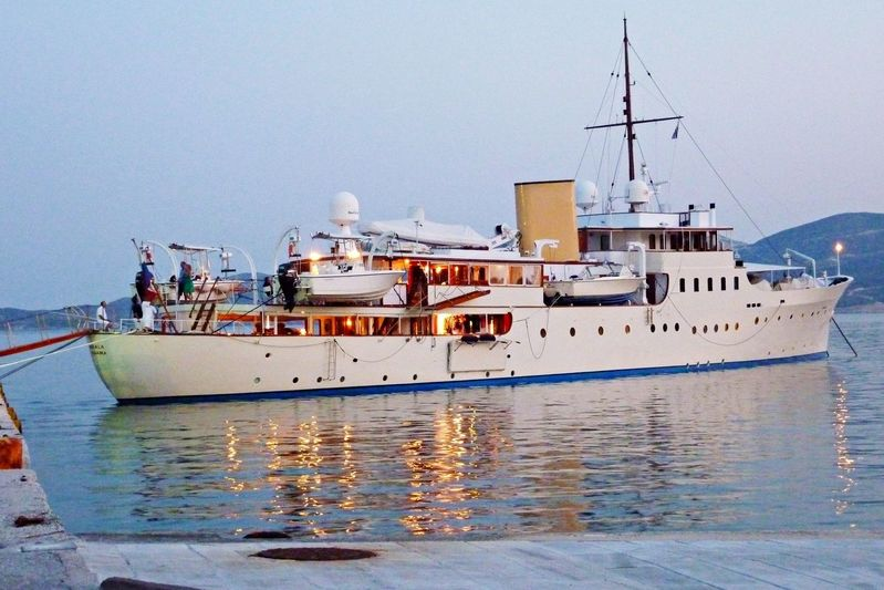 MARALA yacht Camper & Nicholsons Shipyard