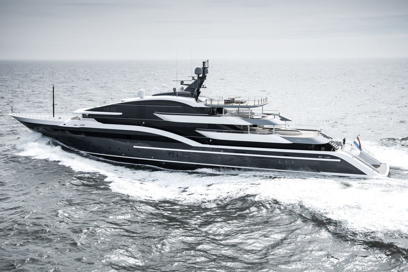Oceanco SHARK seatrials