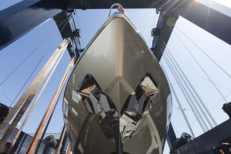 Mangusta 94 launch at Overmarine