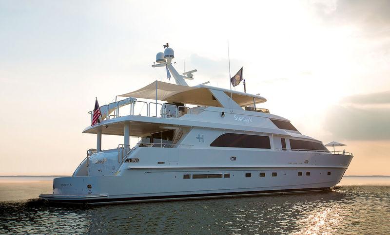 STERLING V yacht Hargrave