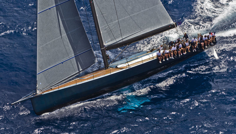 Highland Fling XI at the Loro Piana Superyacht Regatta