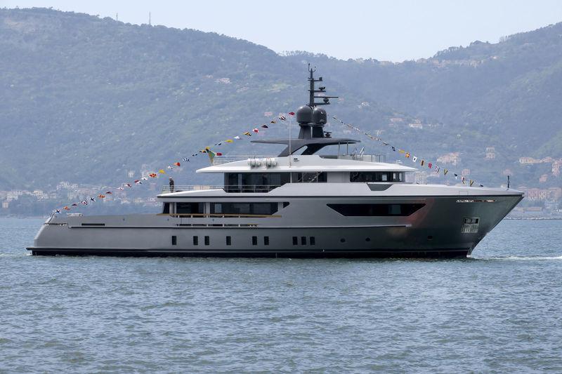 GLOBAS yacht Sanlorenzo
