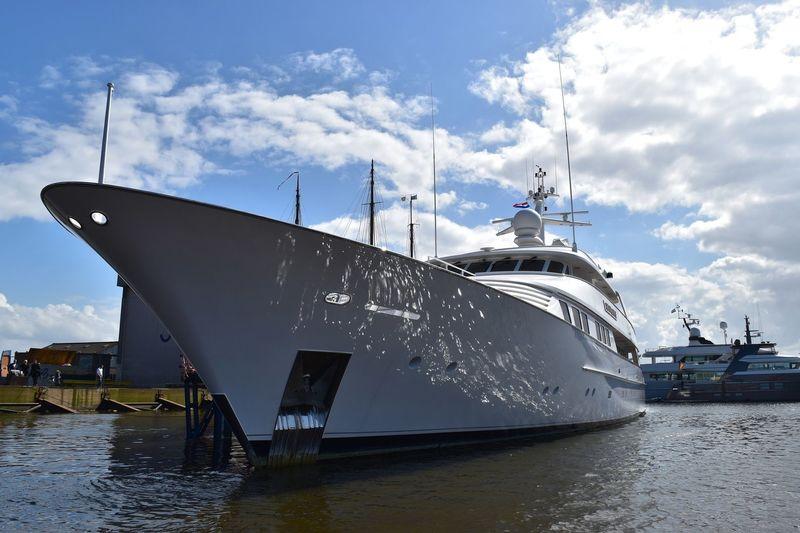 Sea Falcon II at Balk for refit