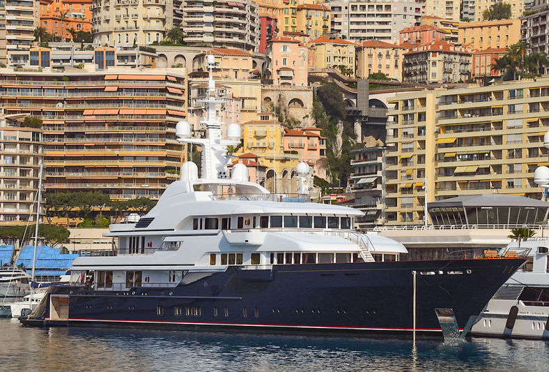 Superyacht Hampshire II in Monaco