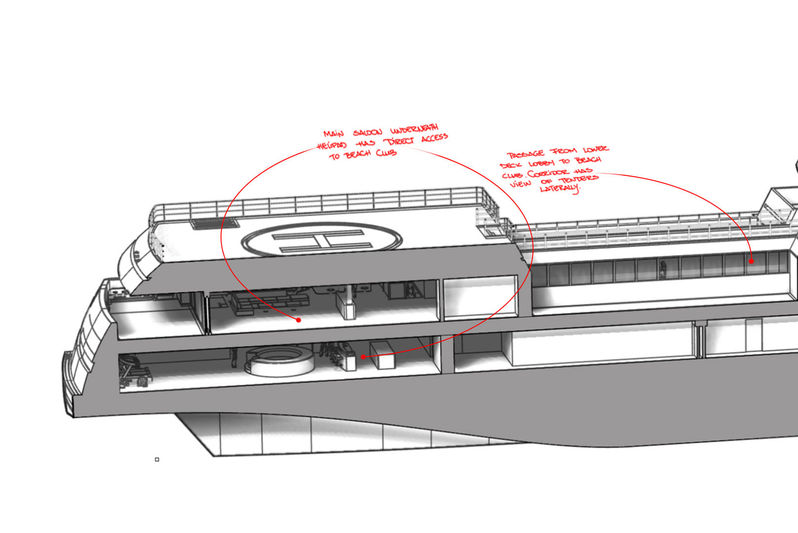 Rosetti 85m supply vessel concept exterior design