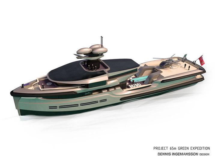 Nedship 65m Green Explorer concept exterior design