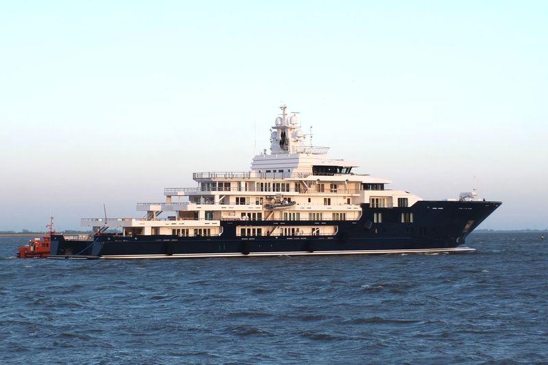 Ulysses on sea trials