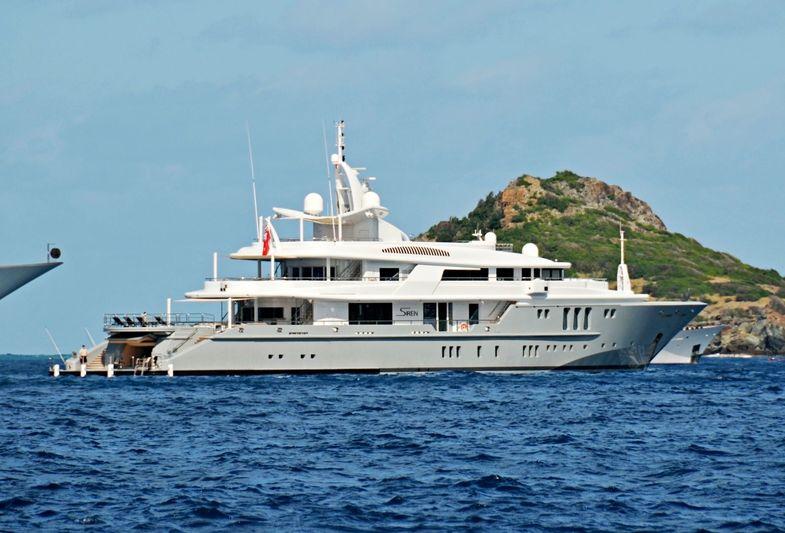 SIREN yacht Nobiskrug