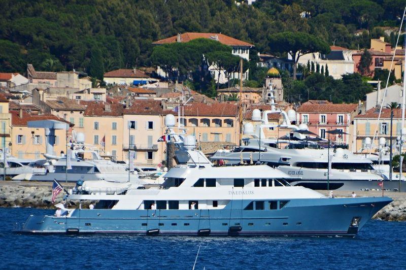 Daedalus  anchored off Saint-Tropez