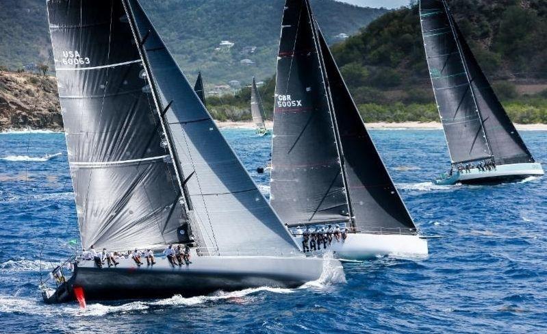 KPMG Race Day 5 at Antigua Sailing Week
