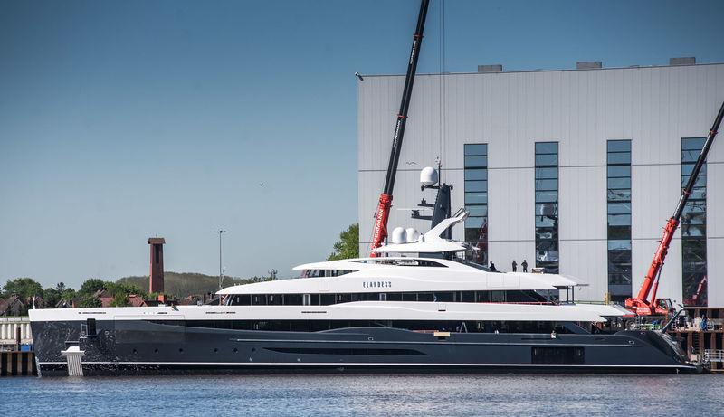 Elandess launched at Abeking & Rasmussen