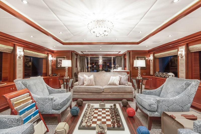 Ocean Club upper deck saloon