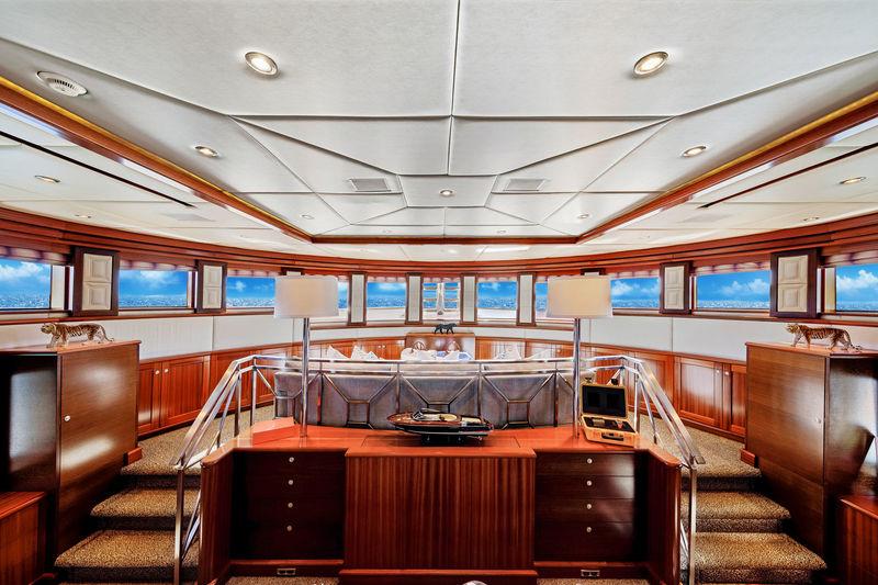 Ocean Club upper deck lounge