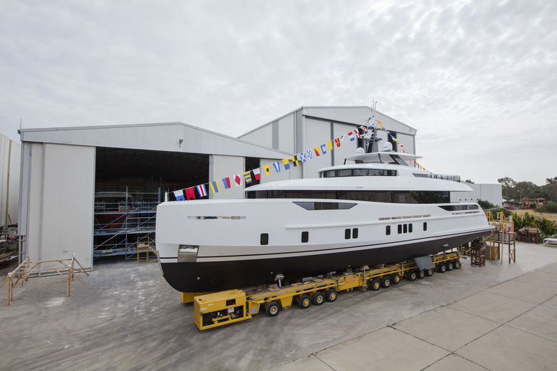 Alia Yachts launch Virgen Del Mar VI