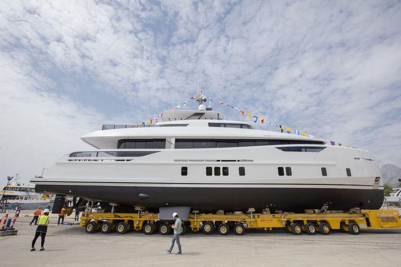Alia Yachts launch Virgen Del Mar VI