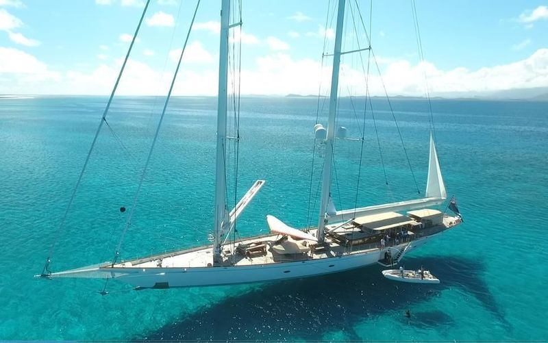 Sailing Yacht Athos world tour 2015 - 2018. Western South Pacific