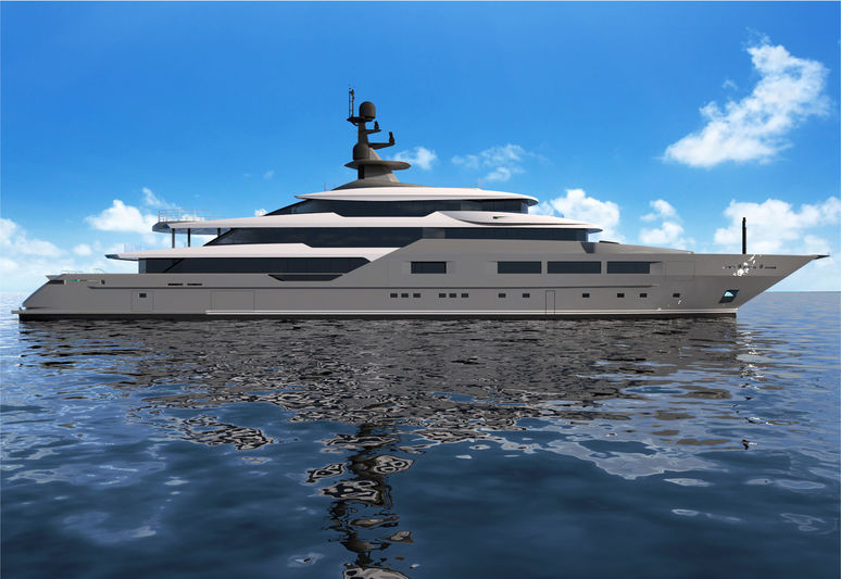 Solo by Tankoa Yachts exterior rendering