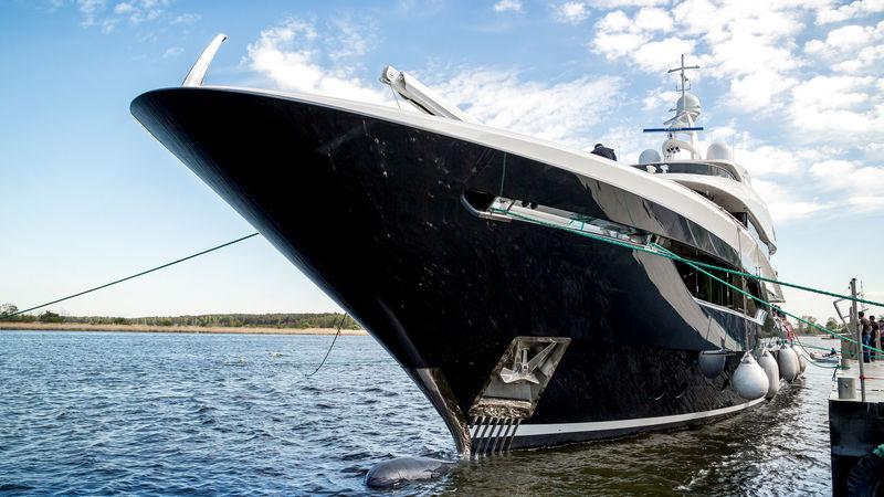 Viatoris Launch at Conrad Shipyard