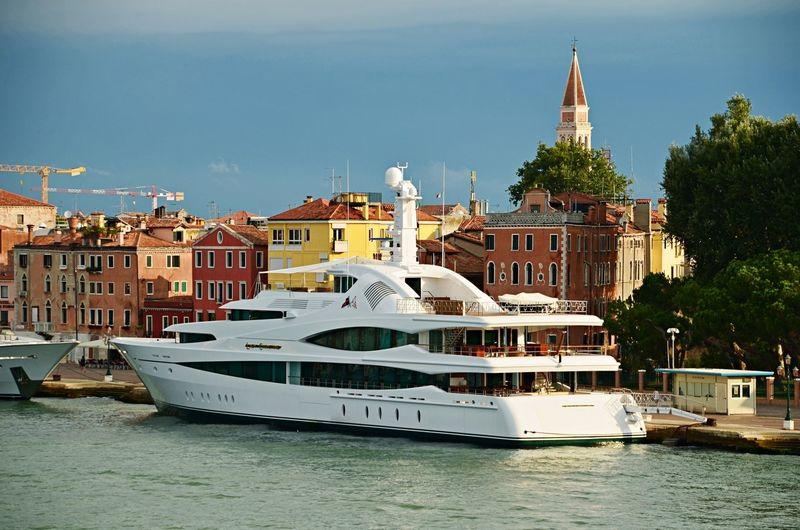 Lady Christine in Venice