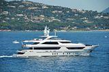 Lammouche cruising off Saint-Tropez