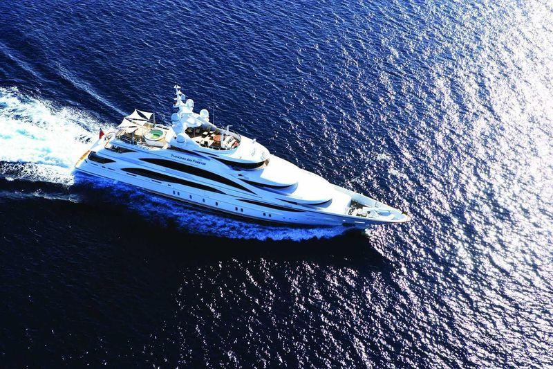 DIAMONDS ARE FOREVER yacht Benetti