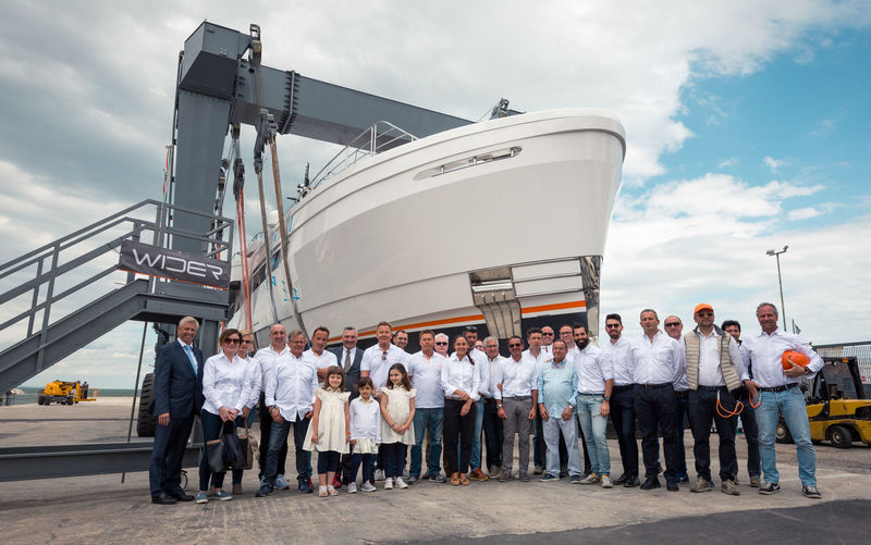 Wider 165 Launch