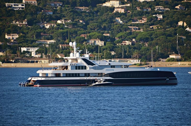Predator anchored in South of France