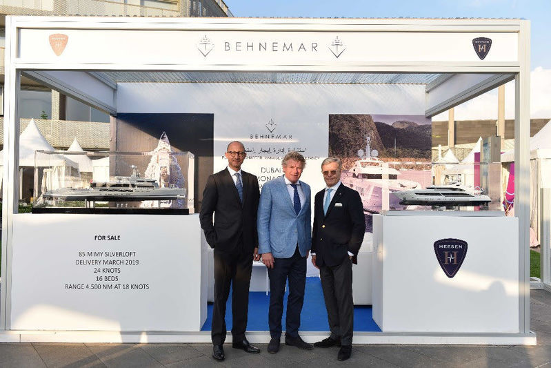 Heesen appoints Behnemar as Middle Eastern agent