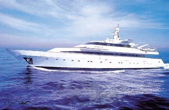 O'REA yacht Alucraft