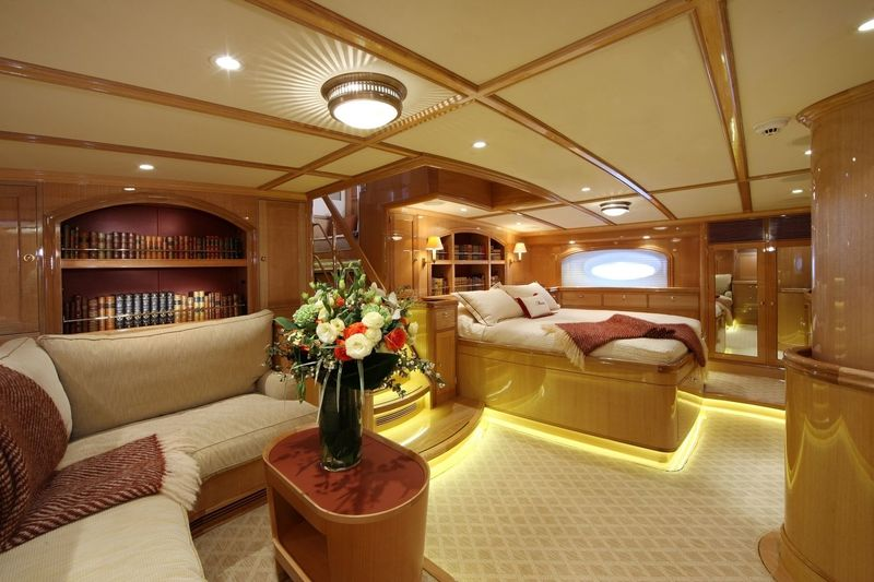 Marie master stateroom