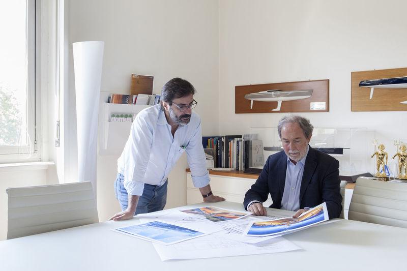 Nauta's Massimo Gino and Mario Pedol