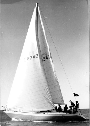 Mario Pedol's 37' Oyster sailing yacht