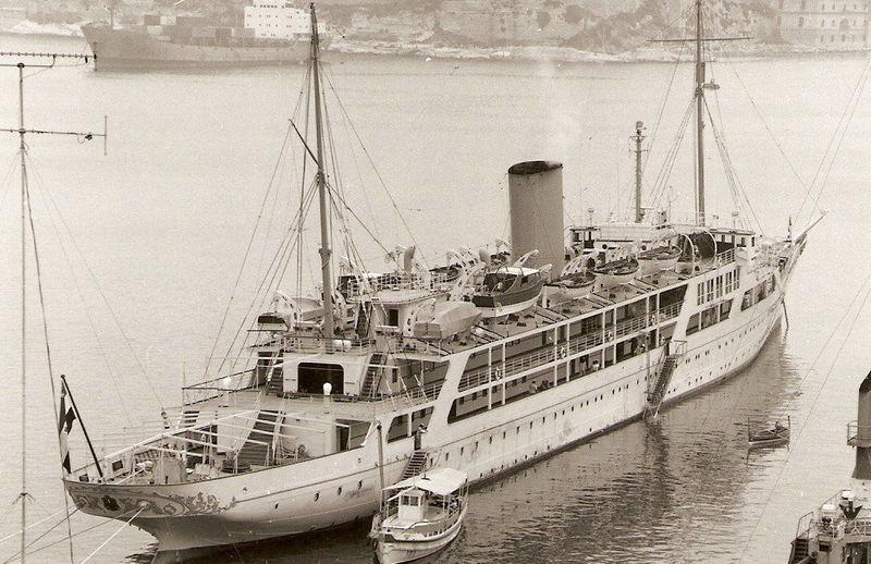 EL MAHROUSA yacht Samuda Bros.