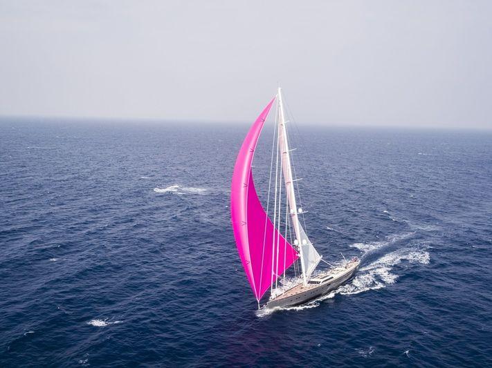 Pink Gin VI sailing