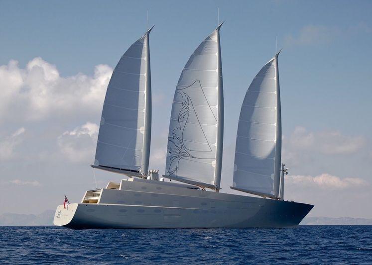 Sailing Yacht A cruising