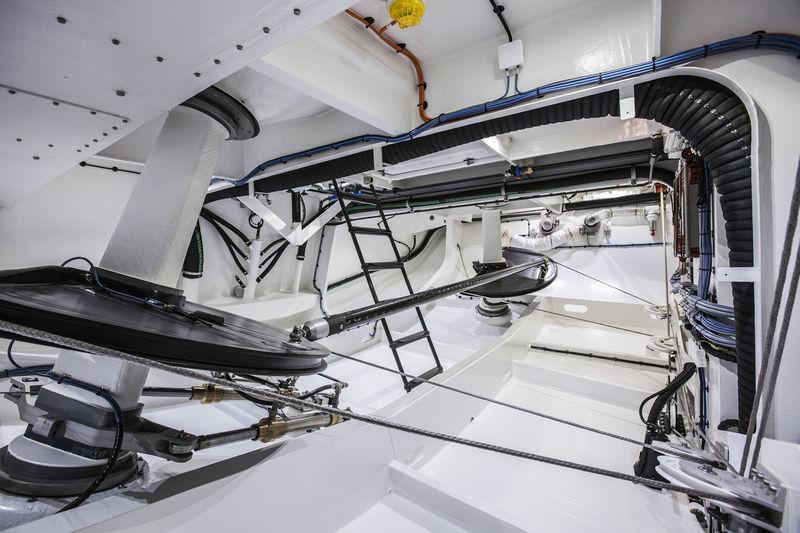 Swan 115 FD - 004 engine room