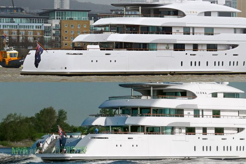 Ilona before/after refit