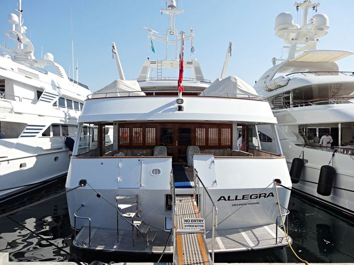 Allegra in Flisvos Marina