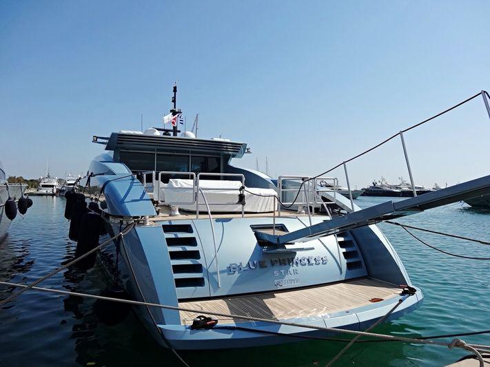 Blue Princess Star in Agios Kosmas Marina