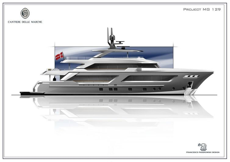 Project MG 129 by Cantiere delle Marche